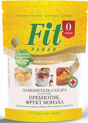Заменитель сахара FitParad №16 дой-пак, 200 г.);