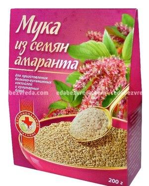 """Мука из семян амаранта """"Специалист"""", 200 г.);"""