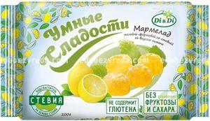 """Мармелад """"Умные сладости"""" со вкусом лимона, 200 г."""