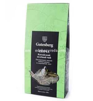 Чай зелёный листовой Gutenberg Сенча, 100 г.);