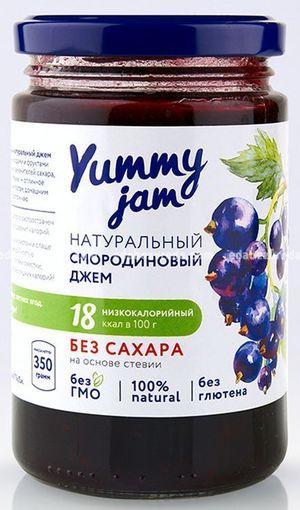 Фруктовый джем Yummy Смородиновый, 330 г.);