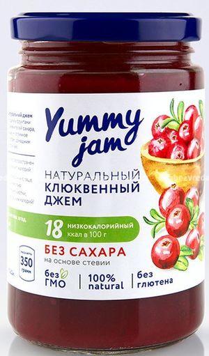 Фруктовый джем Yummy Jam Клюквенный, 330 г);