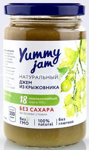Фруктовый джем Yummy Jam из Крыжовника, 330 г);
