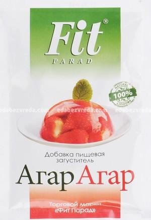 Агар-агар FitParad саше, 25 г.);