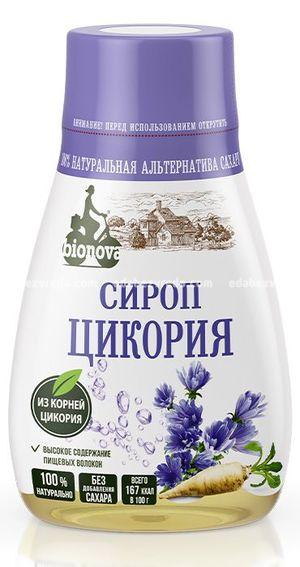 Сироп Bionova из цикория, 230 мл.);