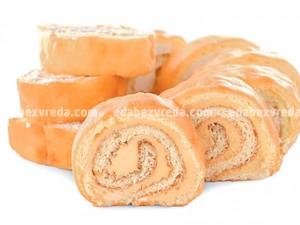 Рулет бездоповый Fit&Sweet c абрикосовой начинкой, 140 г);