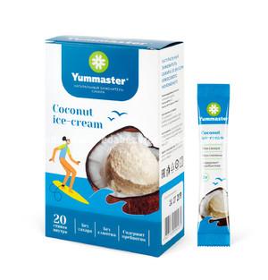 Заменитель сахара Yummaster Кокосовое мороженое, 20*2 г.);