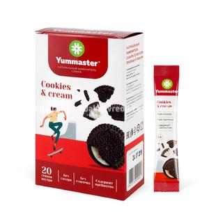 Заменитель сахара Yummaster Печенье-Крем, 20*2 г.);