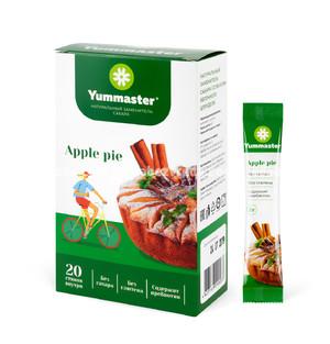 Заменитель сахара Yummaster Яблочный штрудель, 20*2 г.);