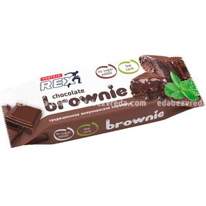 "Пирожное протеиновое ""Брауни"" ProteinRex, 50 г.);"