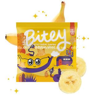 Мультизлаковые паффы Bitey со вкусом банана, 20 г.);