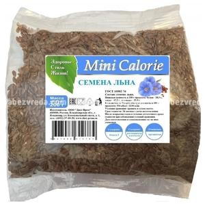 Семена льна Mini Calorie, 200 г.);