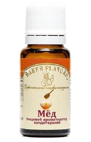 Ароматизатор пищевой Baker Flavors Мёд цветочный, 10 мл);