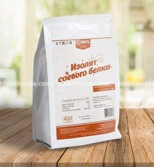 Изолят соевого белка Шаньсунь 90 MVL, 400 г.