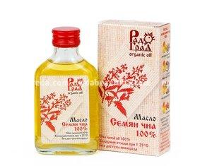 """Масло семян ЧИА 100% """"РадоГрад Organic Oil"""" , 100 мл);"""