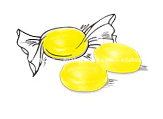 """Леденцы на изомальте """"Лакомства для здоровья"""" Мёд и Лимон, 50 г."""