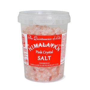 Гималайская соль Розовая (крупный помол 2-5 мм), 482 г.);