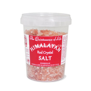 Гималайская соль красная (крупный помол 2-5 мм) 482 г.);