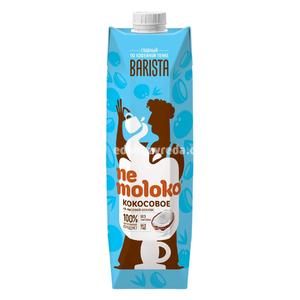 Напиток кокосовый на рисовой основе Nemoloko Barista, 1 л.);
