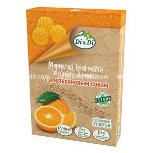 Мармелад крафтовый желейно-формовой с апельсиновым соком Di&Di, 155 г.);