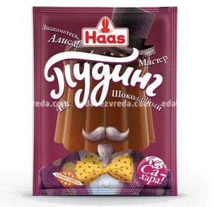 Пудинг Шоколадный HAAS, 40 г.);