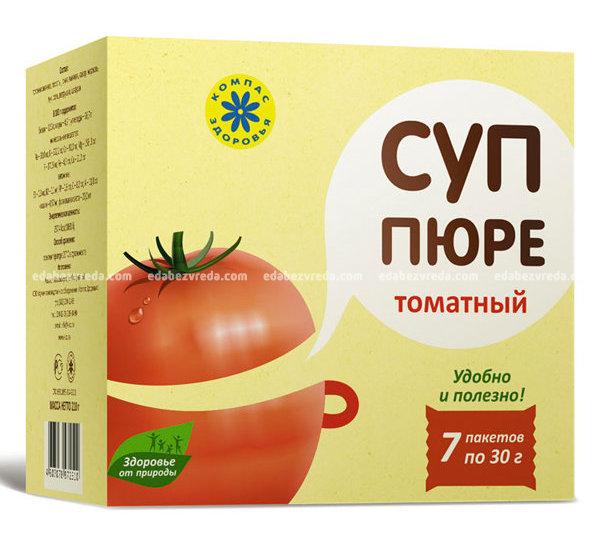 """Суп-пюре томатный """"Компас Здоровья"""", саше 30 г"""