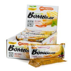 Батончик протеиновый BOMBBAR Лимонный торт, 60 г);