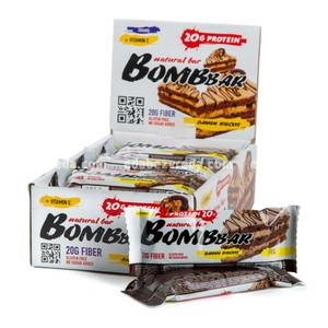 Батончик протеиновый BOMBBAR Датский бисквит, 60 г