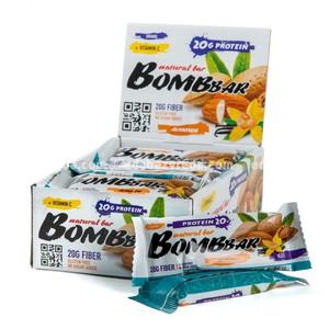 Батончик протеиновый BOMBBAR Миндаль, 60 г);