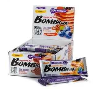 Батончик протеиновый BOMBBAR Смородиново-черничный панкейк, 60 г