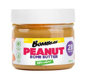 Паста арахисовая Peanut bombbutter BOMBBAR, 300 г.);