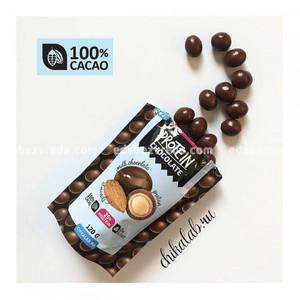 Протеиновое драже Chikalab Миндаль в шоколаде, 120 г);