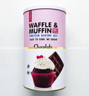Смесь для кексов и вафель CHIKALAB Шоколад, 480 г.);