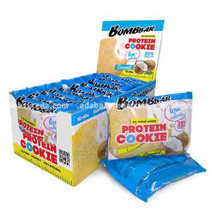 Печенье протеиновое BOMBBAR Кокос, 40 г);
