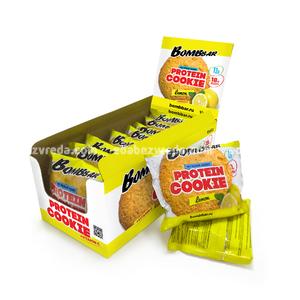 Печенье протеиновое BOMBBAR Лимон, 60 г);