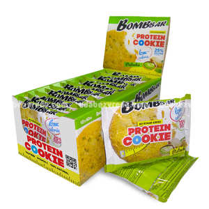 Печенье протеиновое BOMBBAR Фисташка, 40 г);
