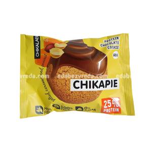 Печенье протеиновое с глазурью Chikapie Арахисовое, 60 г.);