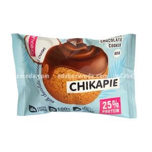 Печенье протеиновое с глазурью Chikapie Кокосовое, 60 г.);