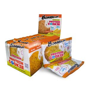 Печенье протеиновое BOMBBAR Апельсин-Имбирь, 40 г);