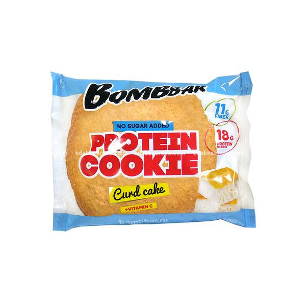 Печенье протеиновое BOMBBAR Творожный кекс, 60 г