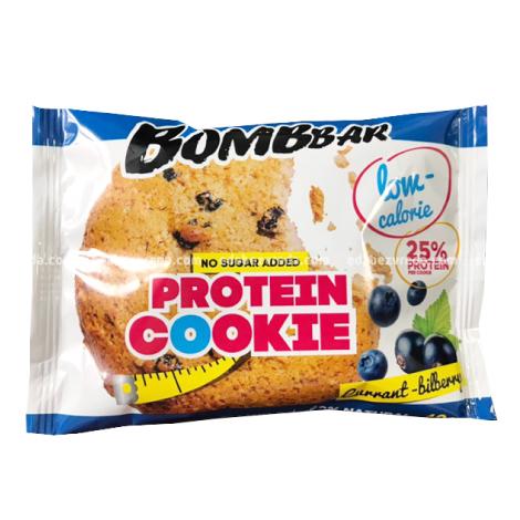 Печенье протеиновое BOMBBAR Смородина-Черника, 40 г