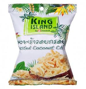Кокосовые чипсы King Island, 40 г);