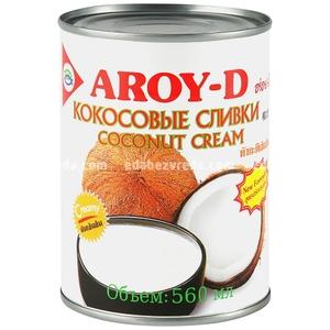 Кокосовые сливки AROY-D 70% ж/б, 560 мл.);