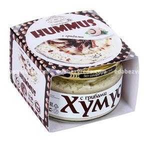 """Закуска """"Тайны Востока-хумус"""" С грибами, 200 г);"""