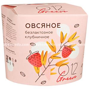 Десерт замороженный взбитый овсяный О12 клубничный, 70 г.);