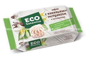 Зефир Eco-botanica с вкусом ванили и витаминами, 250 г.