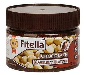 Фундучная паста с какао Fitella, 230 г);