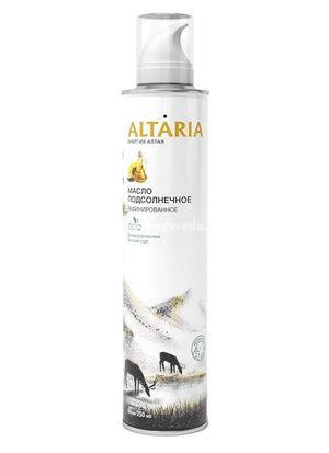 Масло-спрей подсолнечное рафинированное ALTARIA, 250 мл.);