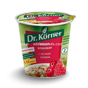 Каша Dr.Korner Злаковая с лесными ягодами, 40 г );