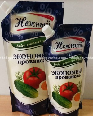 "Соус майонезный ""Нежный"" 15%, 400 г);"